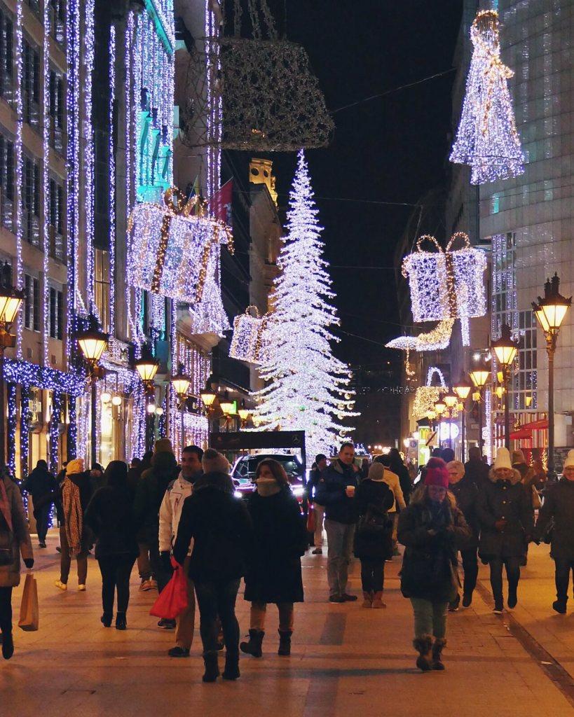 Dekoracje bożonarodzeniowe w Budapeszcie,