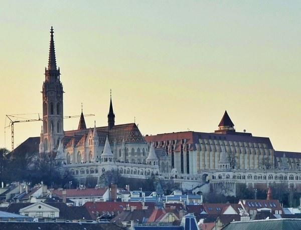 Widok na Budapeszt na Wégrzech.