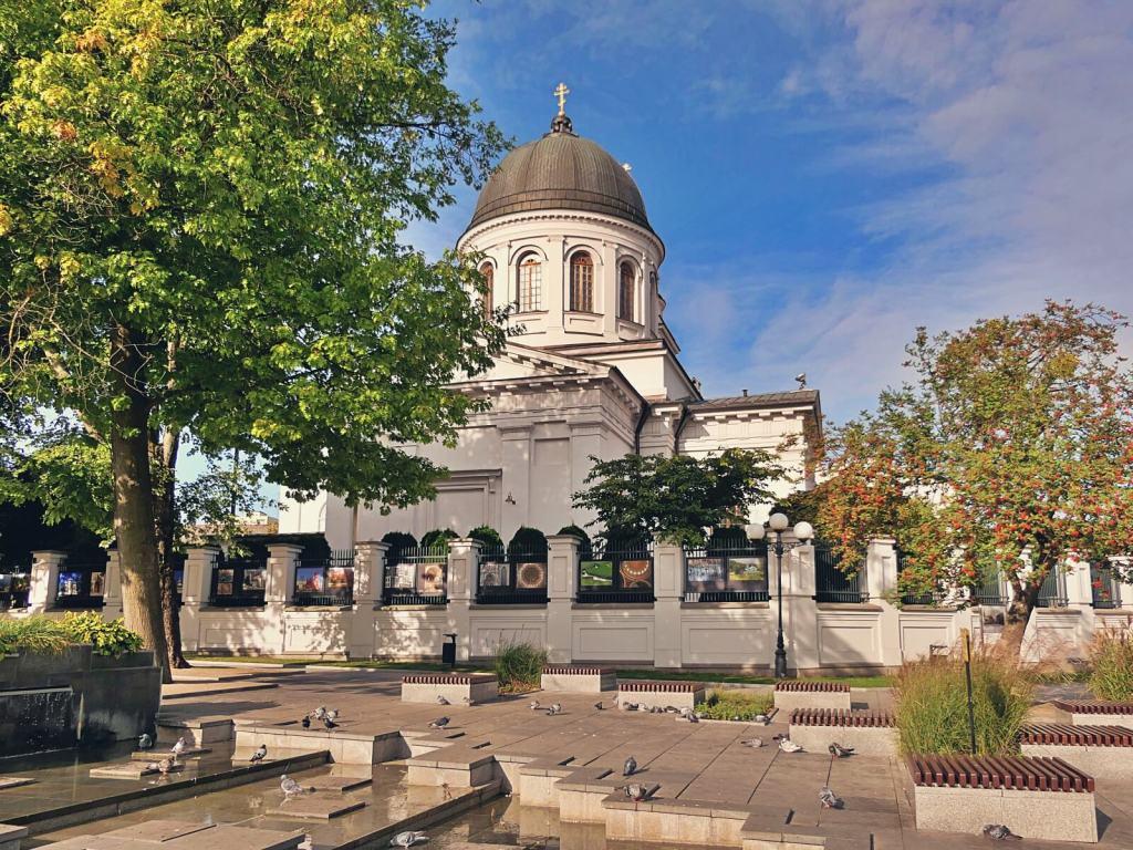 Cerkiew katedralna św. Mikołaja Cudotwórcy w Białymstoku.