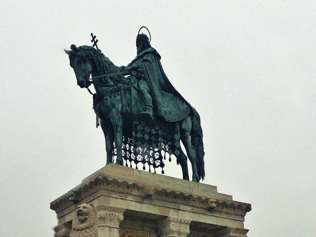 Pomnik węgierskiego króla Stefana.
