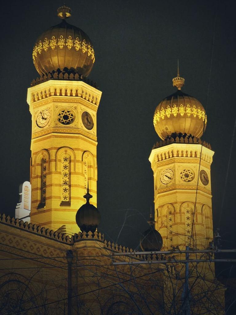 Synagoga w Budapeszcie.