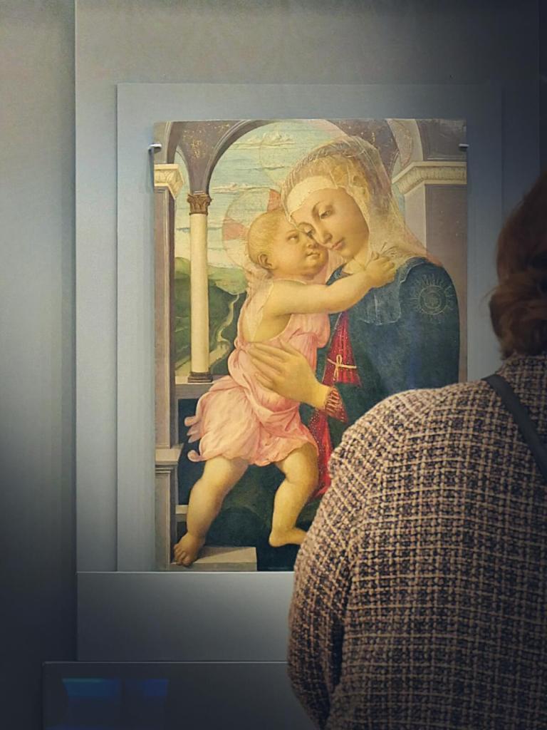 Madonna della Loggia pędzla włoskiego mistrza Sandro Botticellego.
