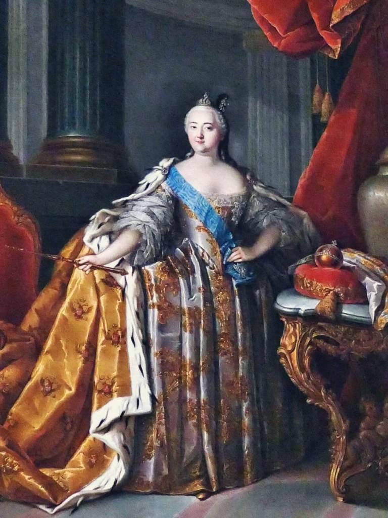 Portret carycy Katarzyny II Wielkiej.
