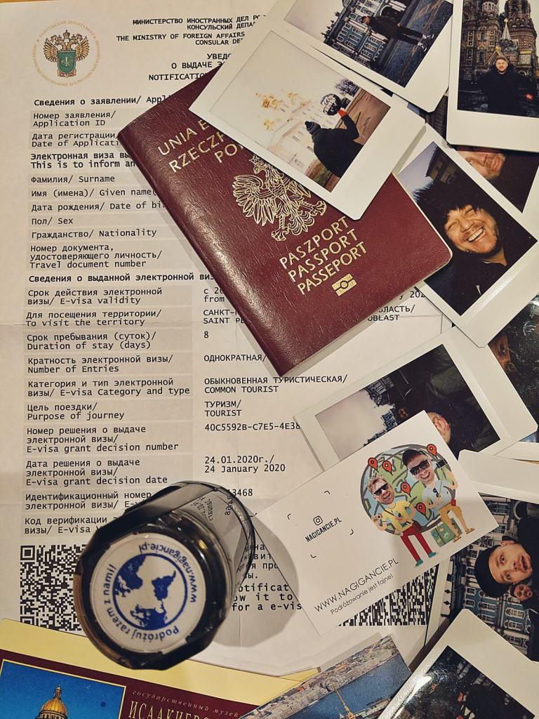 Elektroniczna wiza do Rosji.