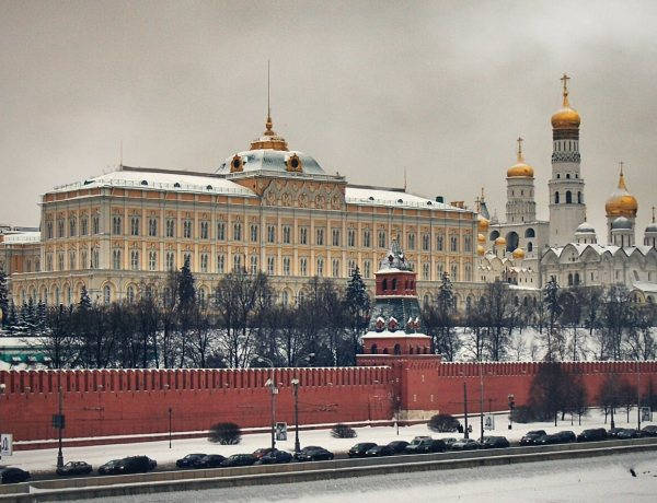 Moskiewski kremlin.