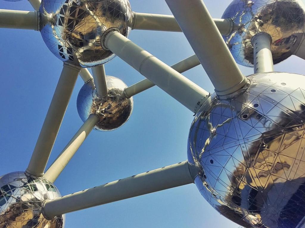 Antomium w Brukseli.