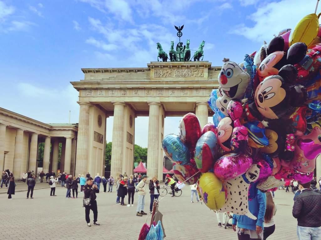 Brama Brandenburska w Berlinie.
