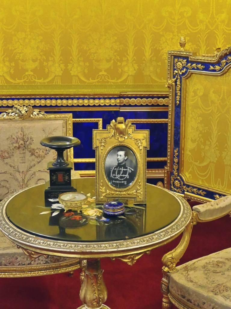 Zdjęcie cara Mikołaja II w Carskim Siole.