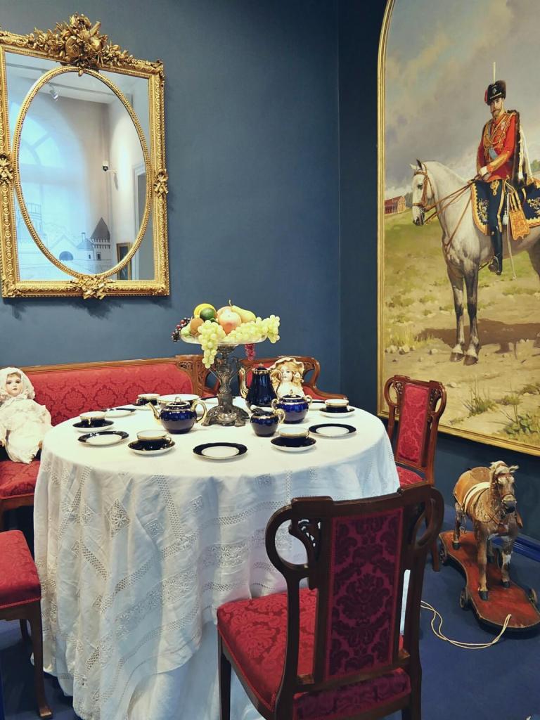 Wnętrze carskiego pałacu w Carskim Siole niedaleko Petersburga.