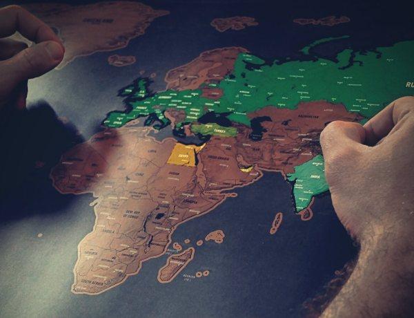 Mapa podróżnika.