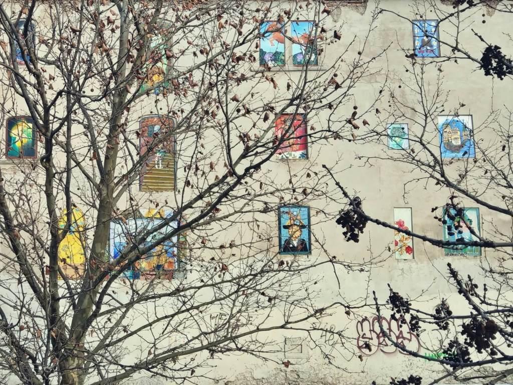 Murale w Bratysławie na Słowacji.