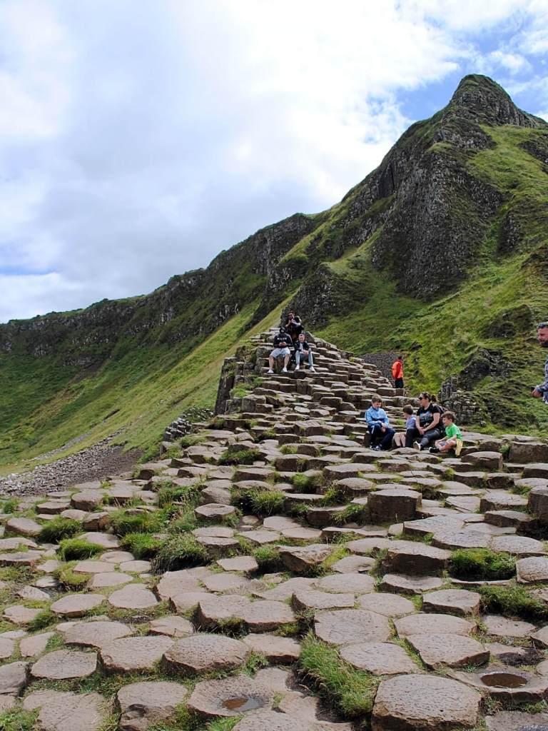 Grobla Olbrzyma w Irlandii Północnej.