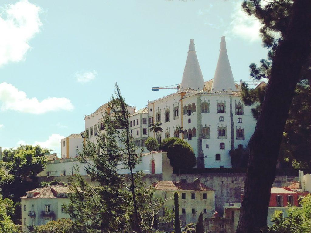 Pałac Narodowy Sintra w Portugalii.