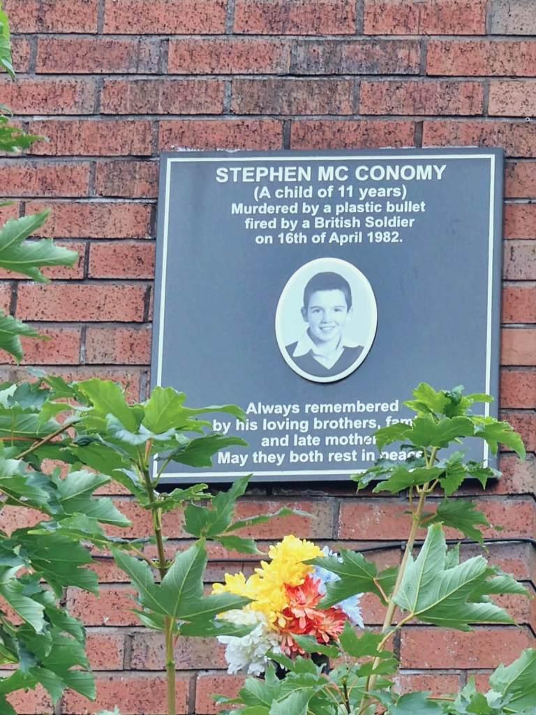 Ofiara Brytyjczyków Irlandia, Irlandia Północna, Londonderry, Derry.