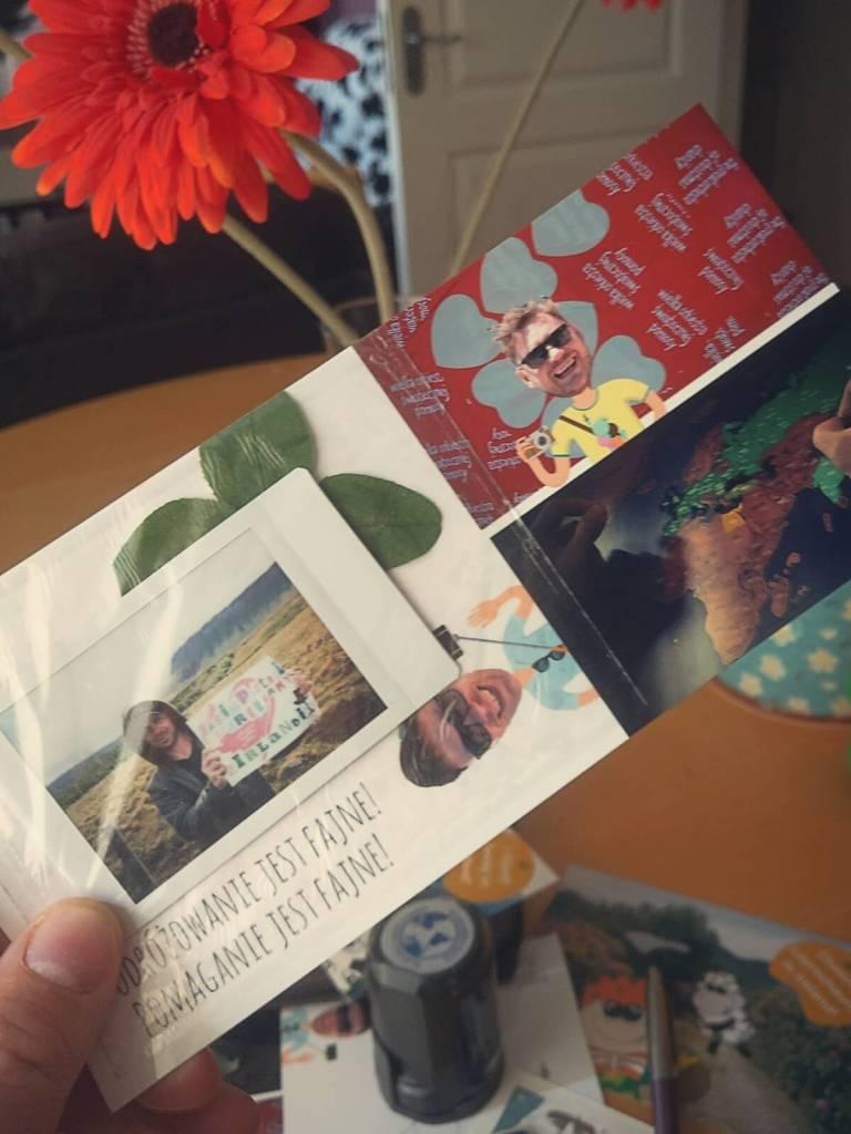 Pocztówka z wakacji dla Wielkiej Orkiestry Świątecznej Pomocy.