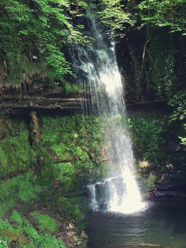 Sligo, Irlandia, wodospad.