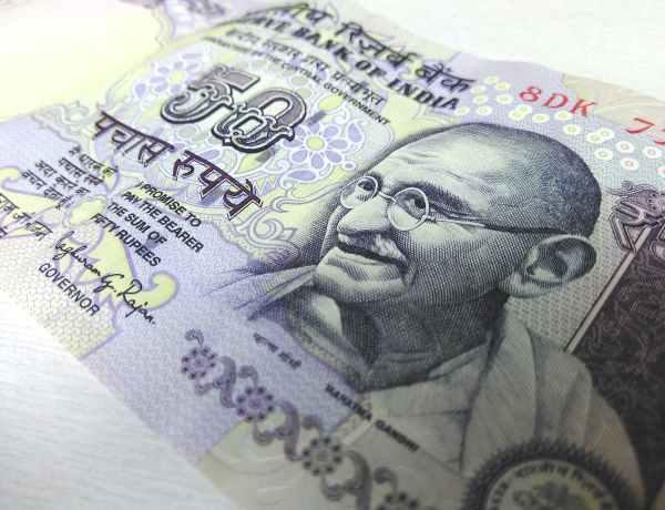 Rupie indyjskie.