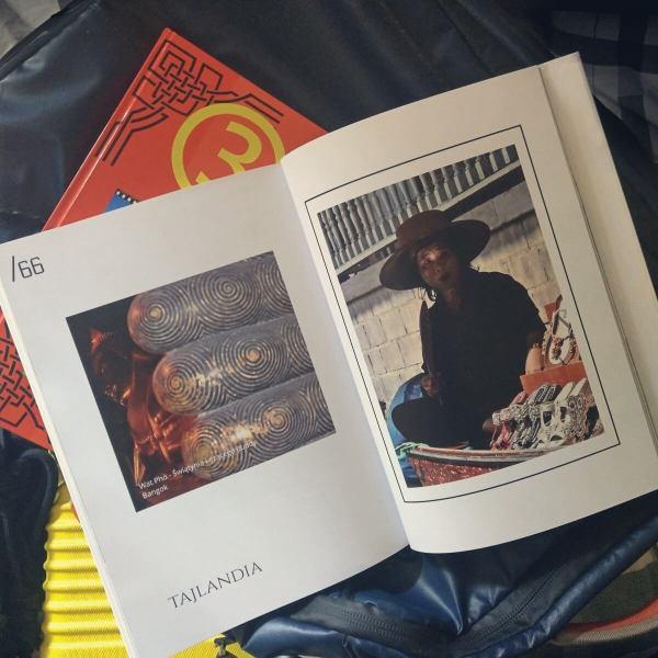 Foto książka z wakacji.