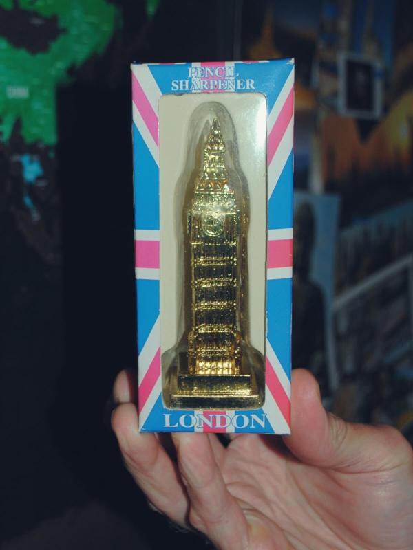Big Ben, temperówka z Londynu.